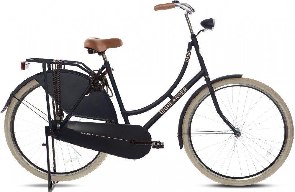Seguro Bicicleta - Imagen de una bicicleta tipo Holandesa color negra