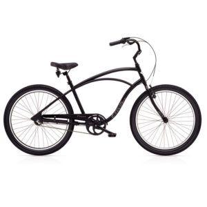 Seguro Bicicleta - Imagen de una bicicleta tipo playera o cruiser color negra