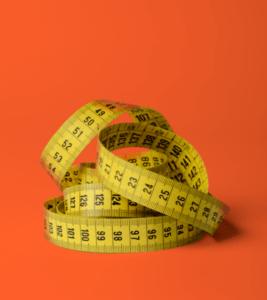 Seguro Bicicleta - Imagen de una cinta métrica