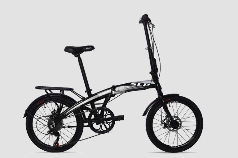 Seguro Bicicleta - Imagen de bicicleta marca SLP modelo plegable F-50 color negra